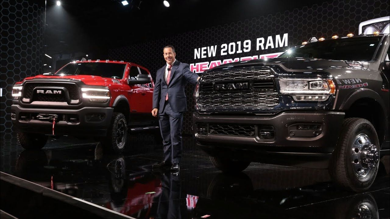 2020 Ram Heavy Duty Unveiled At Detroit Auto Show 2019