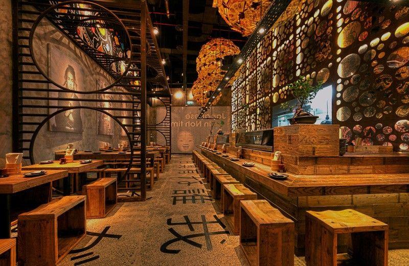 Mojo design completes atisuto japanese restaurant food