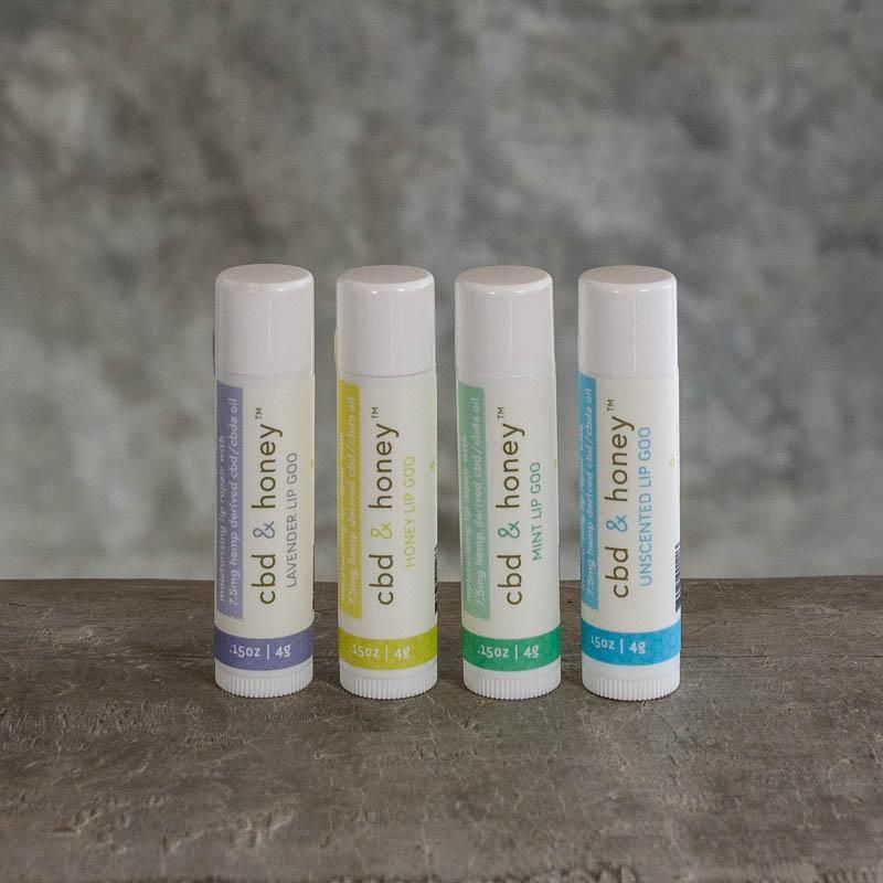 CBD & Honey Lip Balms Soothe And Relieve Chapped Lips And