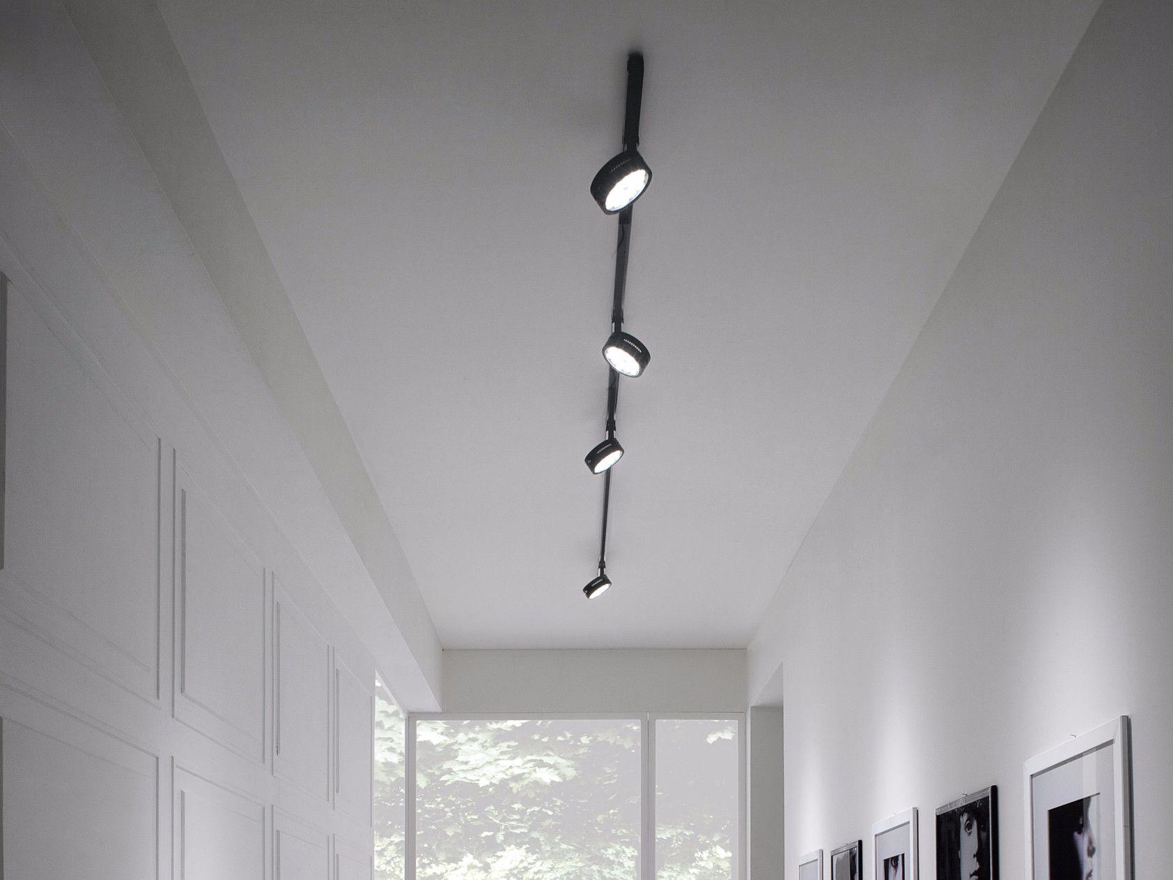 Illuminazione a binario a LED in alluminio COMPACT by GLIP