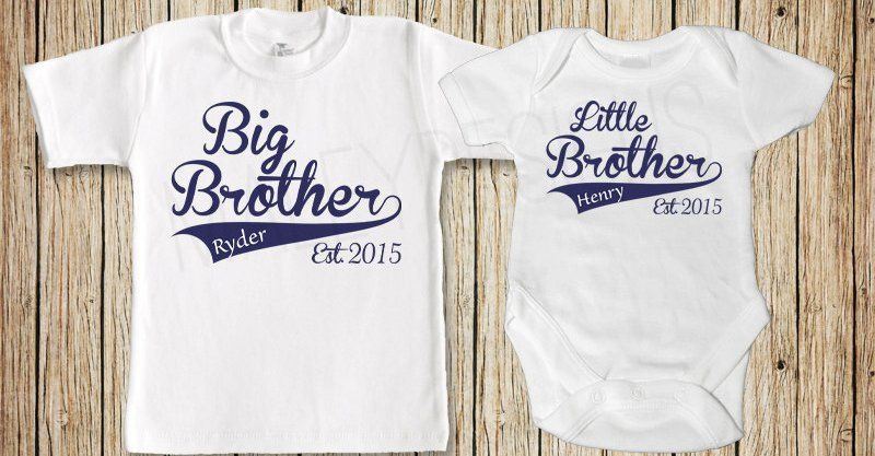 Etsy Find Of The Day Big Brother Little Brother T Shirt