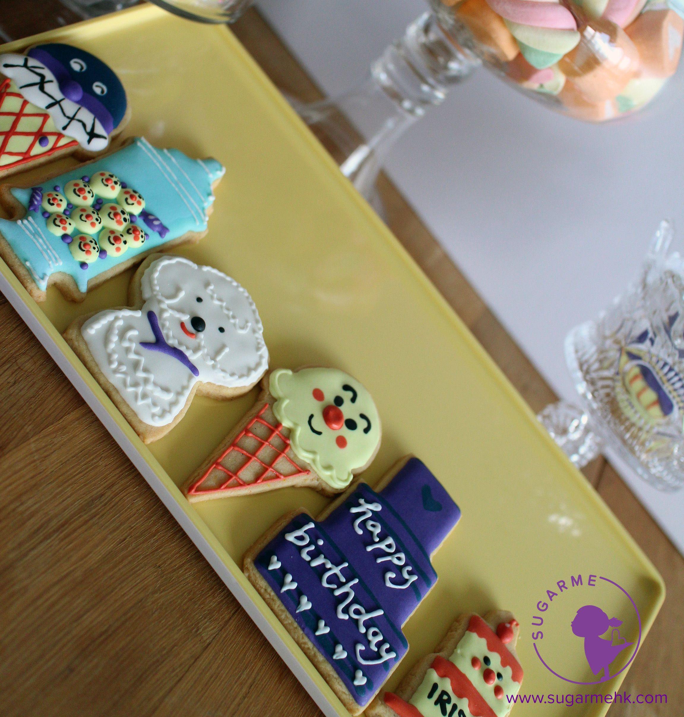 Apanman Cookie Happy birthday, Patisserie, Birthday