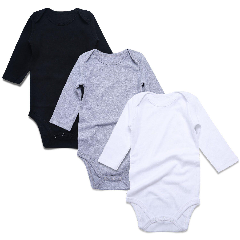 c9d19c924 ROMPERINBOX Place Unisex Baby Bodysuits 100% Cotton 0-24 Months (3-6 ...