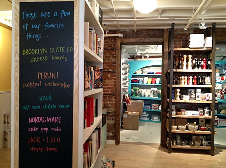 Whisk kitchen shop, New York store design | PROJECT Dry Goods Store ...