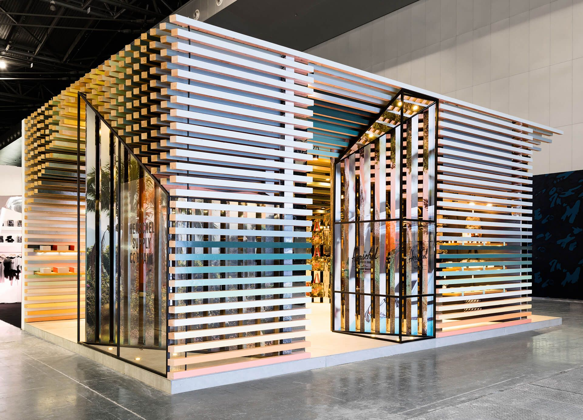 Trade Fair Stands Design : Exhibition booth for light and building trade fair in frankfurt