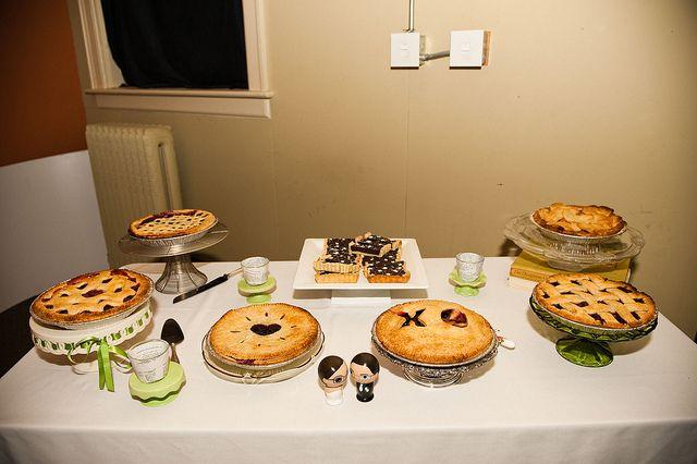 Wedding Pie Buffet