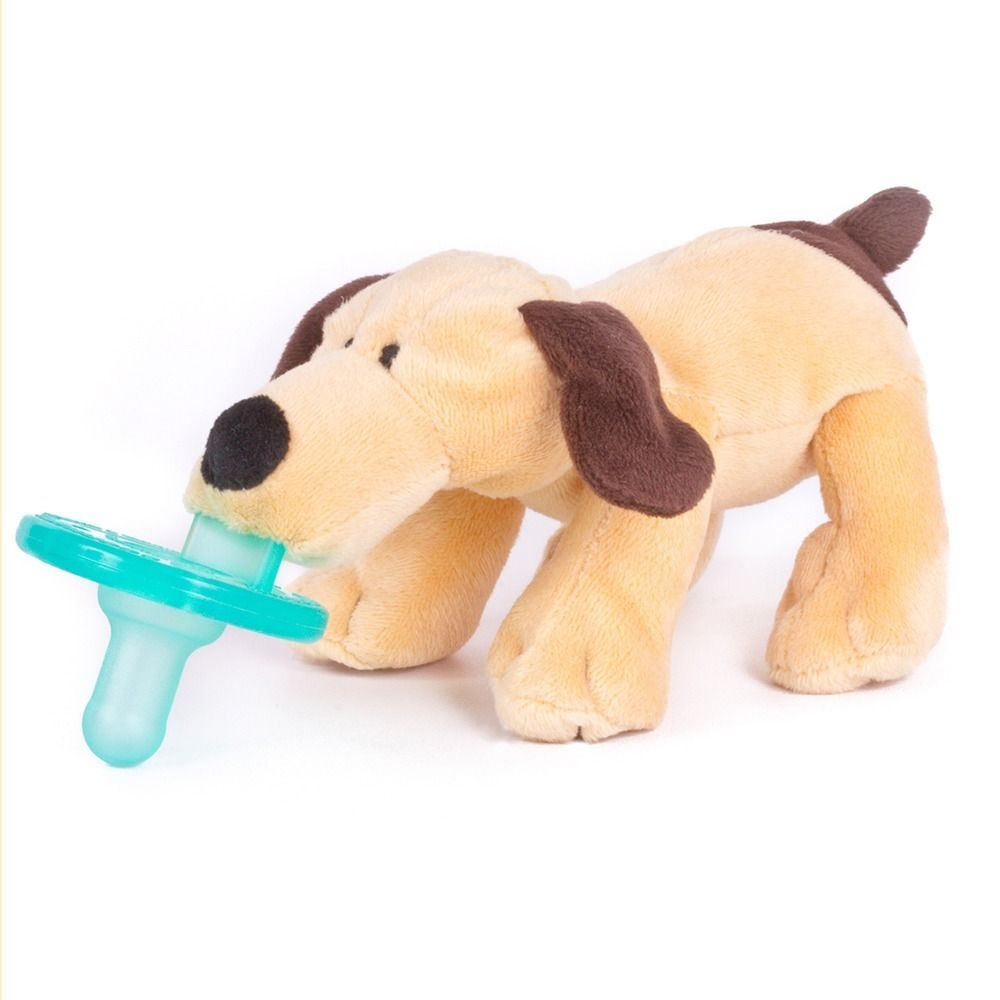 Wubbanub Brown Puppy Infant Pacifier Toy Puppies Brown Puppies