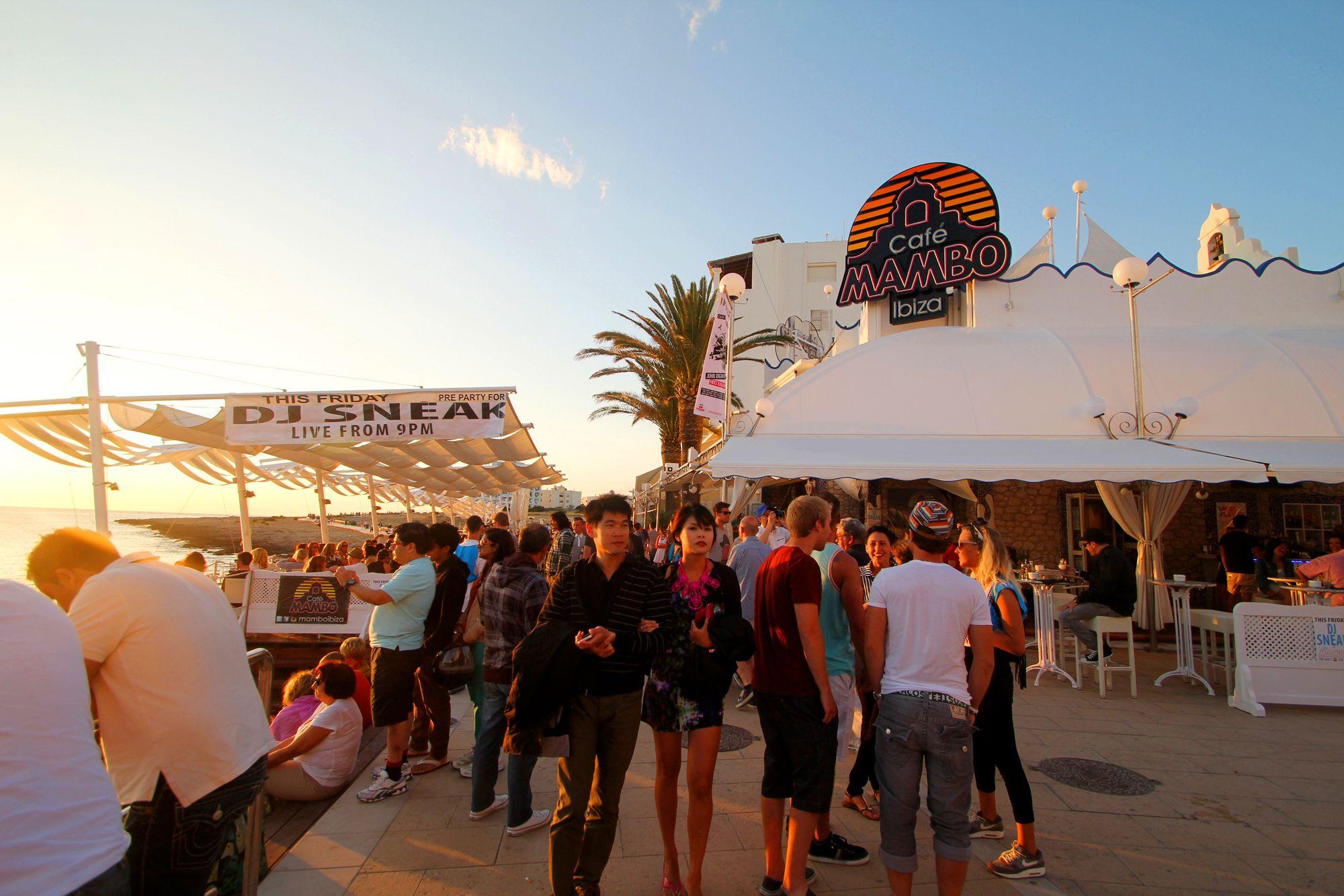 DJ Sneak at sunset #View #Places #Summer #Ibiza #Sun #2013 #Memories