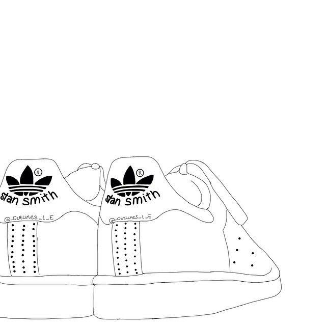 disegni tumblr scarpe scritta adidas