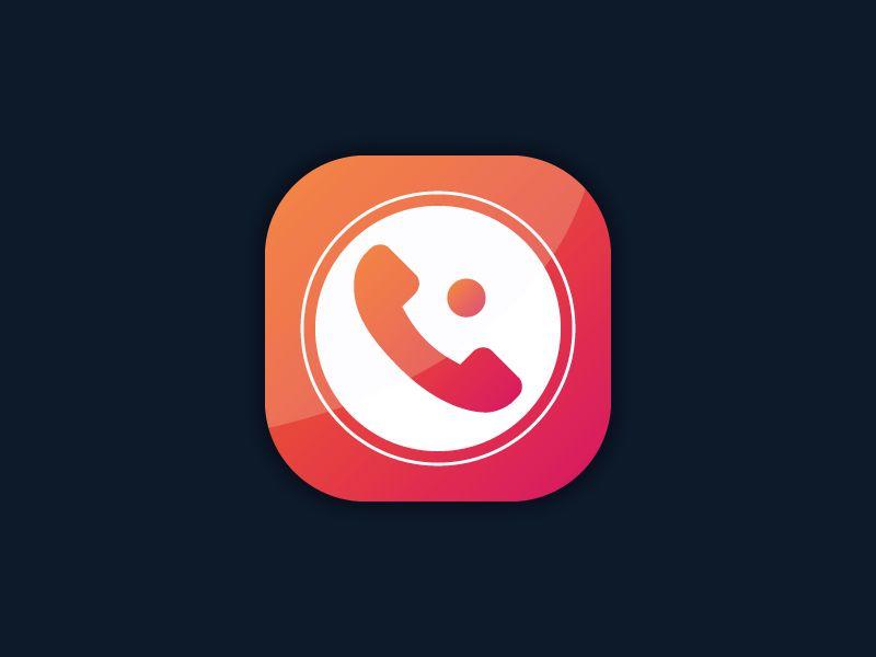 Call Recorder App icon iPhone App icon, App icon