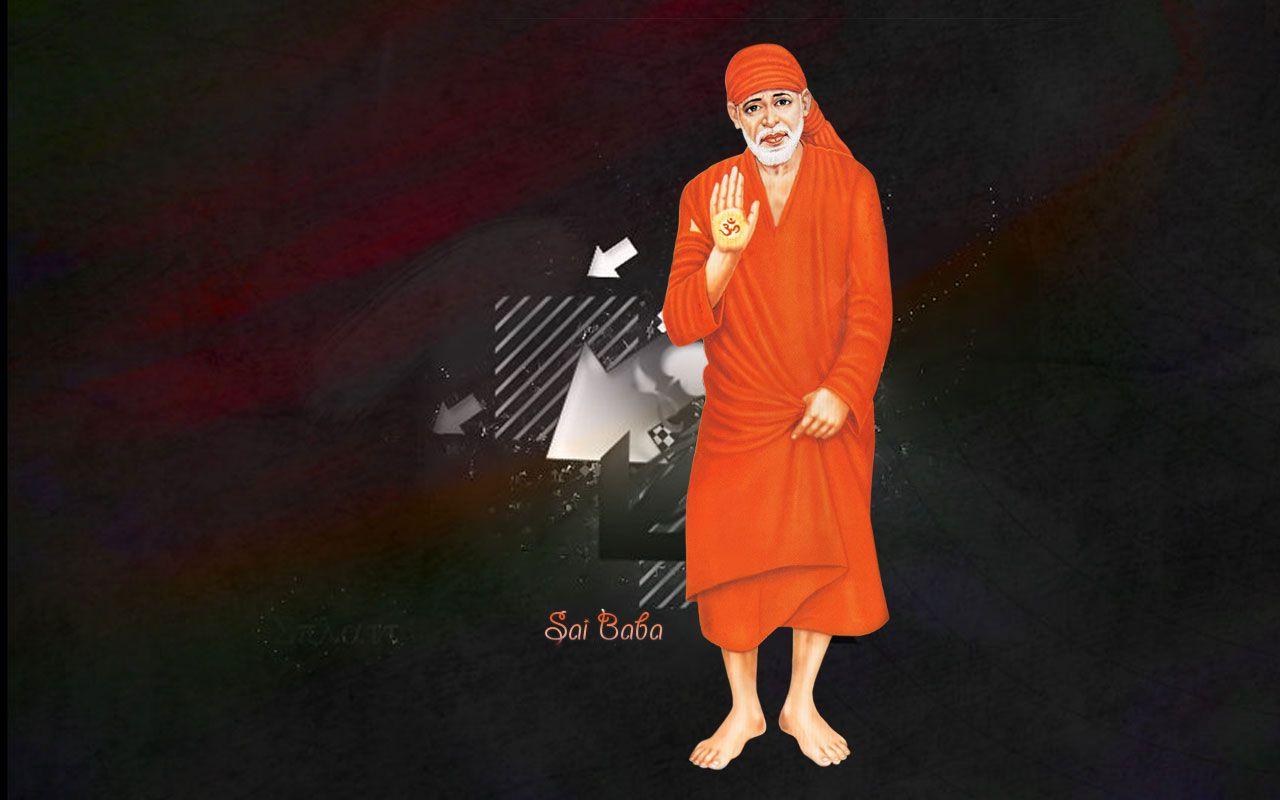 Sai Baba Hd Big Size Wallpaper Download Sai Baba Wallpapers Sai