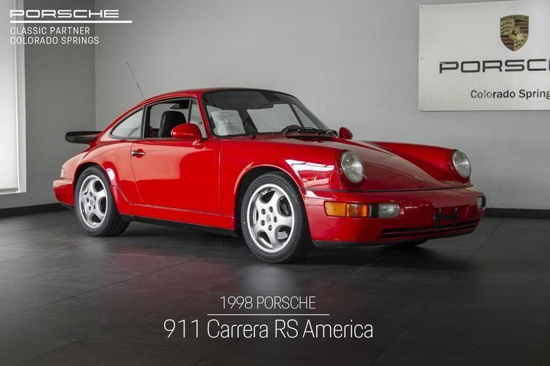 1993 Porsche 911 911 Rs America Colorado Springs Co Porsche Porsche 911 Porsche 911 Rs