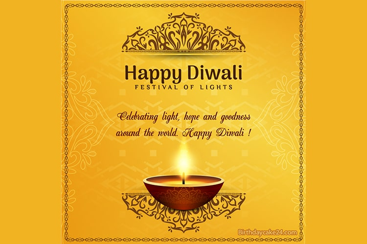 Luxury Diwali Greeting Cards Has Never Been This Easy The Tool For Writing Names And Wishes On Diwa Happy Diwali Diwali Greeting Cards Diwali Wishes With Name