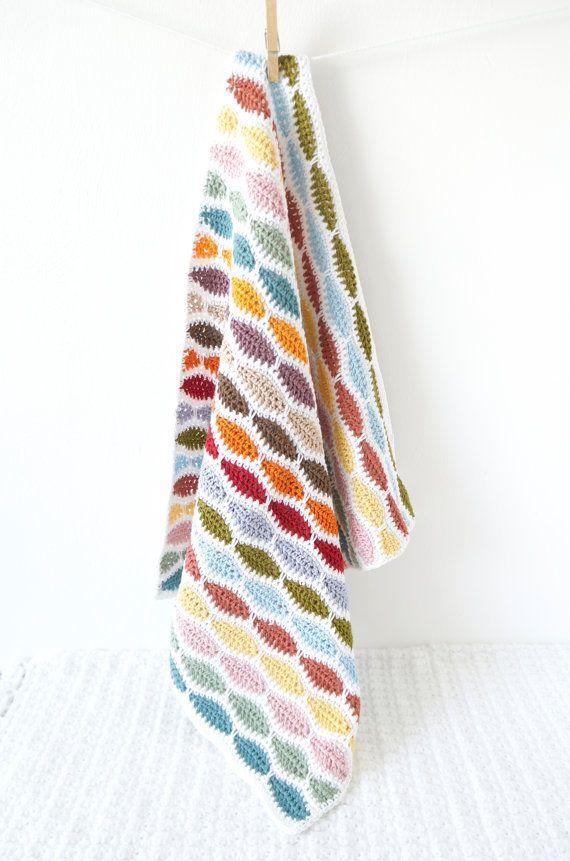 Crochet blanket pattern baby afghan small car by LittleDoolally ...