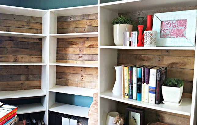 6 Brilliant Ways To Beautify Boring Bookshelves Bookshelves