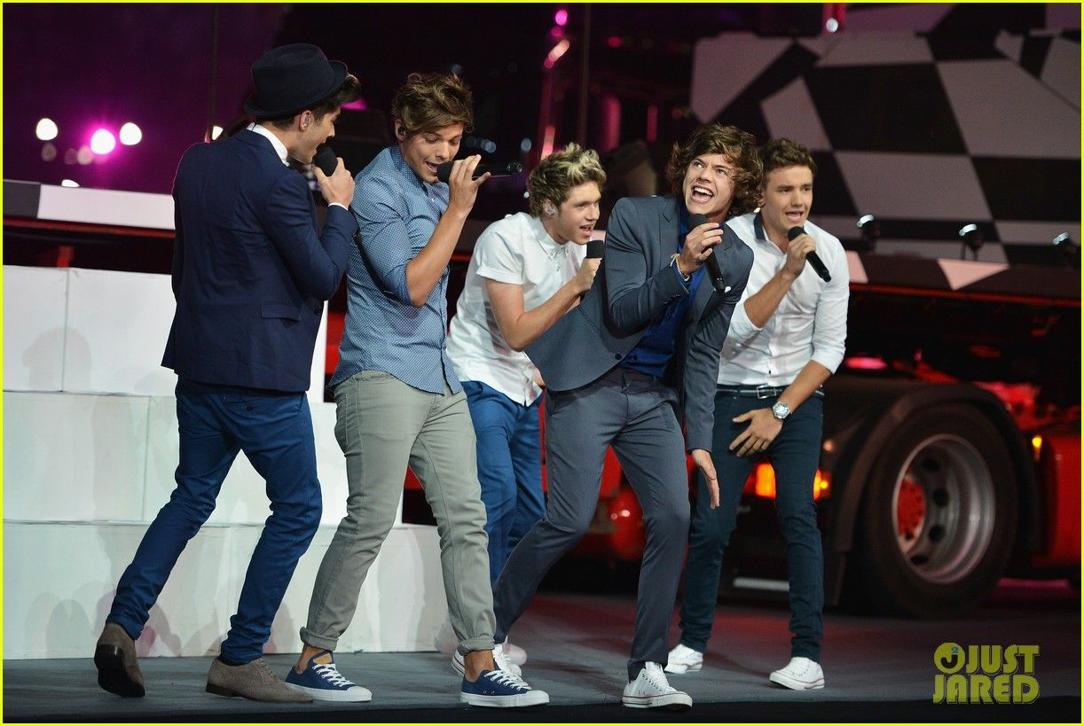 One Direction: Olympics Closing Ceremony Performance