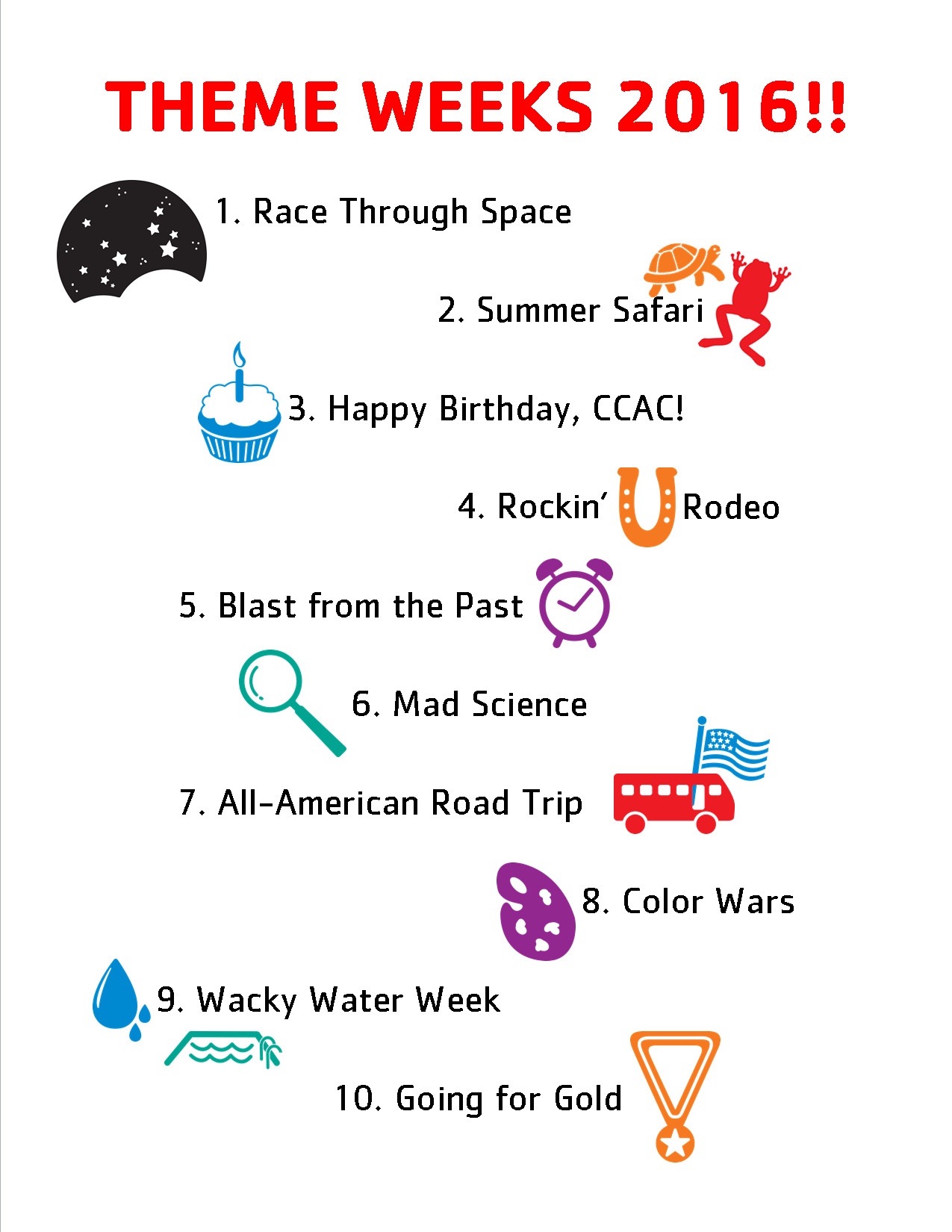 Summer Camp Theme Ideas