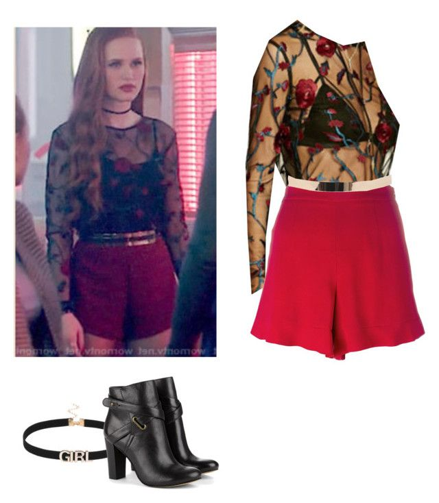 Cheryl Blossom - Riverdale by shadyannon on Polyvore featuring polyvore fashion style RED ...
