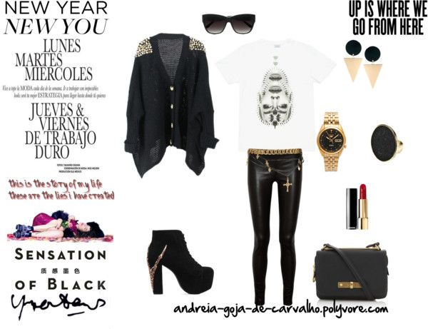 """""""NEW YEAR, NEW YOU"""" by andreia-goja-de-carvalho on Polyvore"""