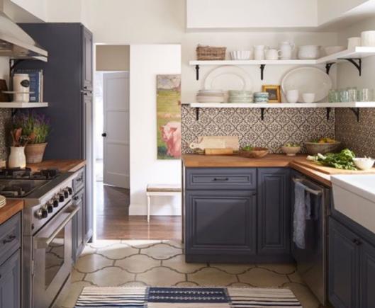 18 imágenes de cocinas sin armarios cerrados | Cocinas, Comedores y ...