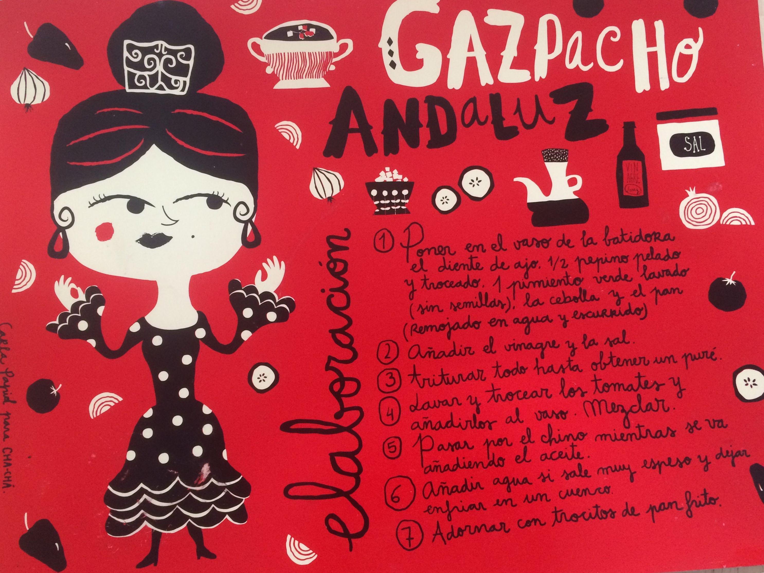Al rico gazpacho carla papid gastronoma pinterest gazpacho spanish language al rico gazpacho carla papid forumfinder Gallery