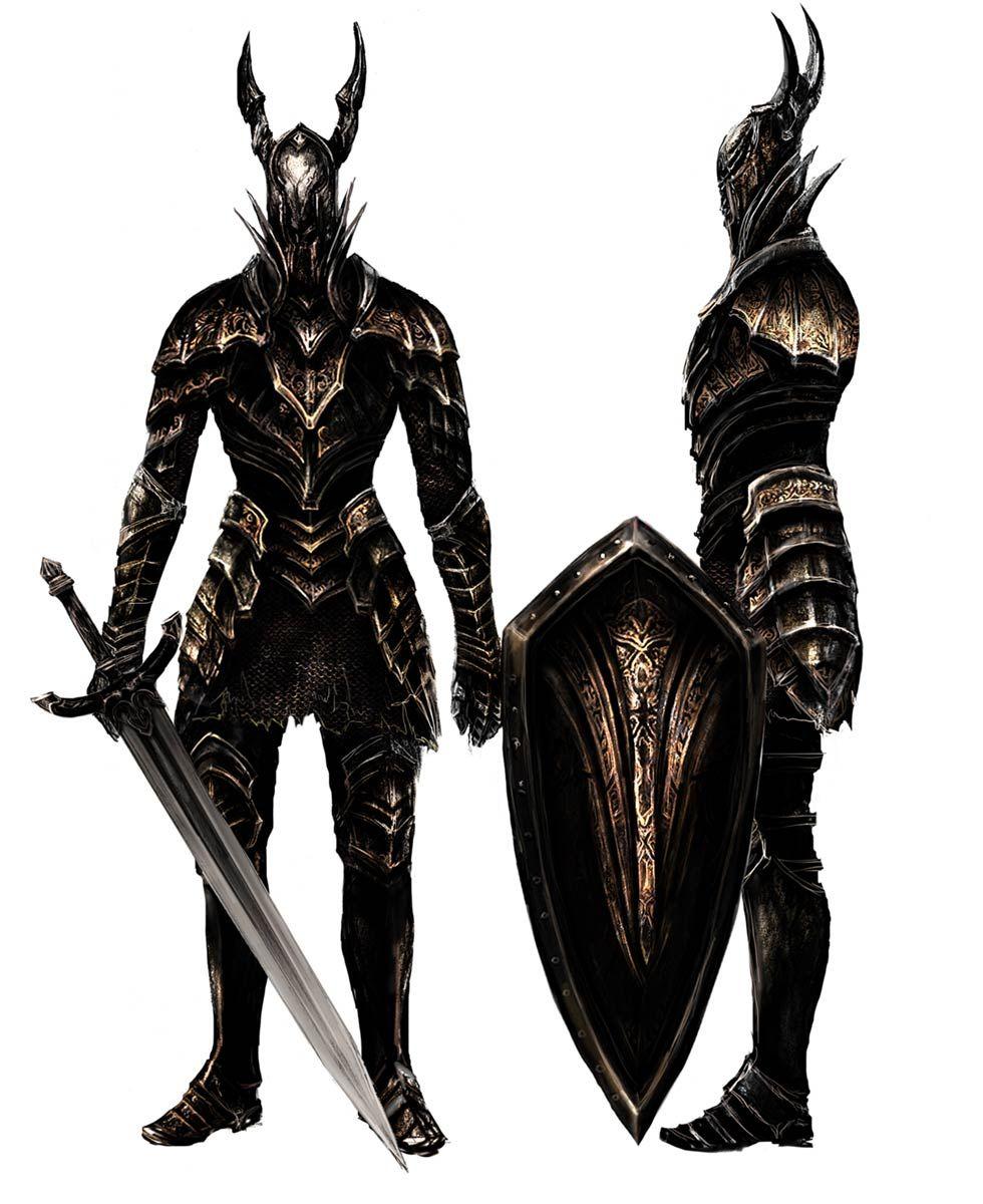 Dark Souls Character Design Process : Black knight pictures characters art dark souls