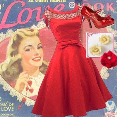 1000  images about Vintage Valentine Visions on Pinterest  1950s ...