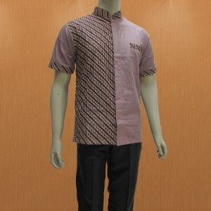 Pilihan Keren Baju Batik Pria Terbaru Model Hem Batik Pria Lengan