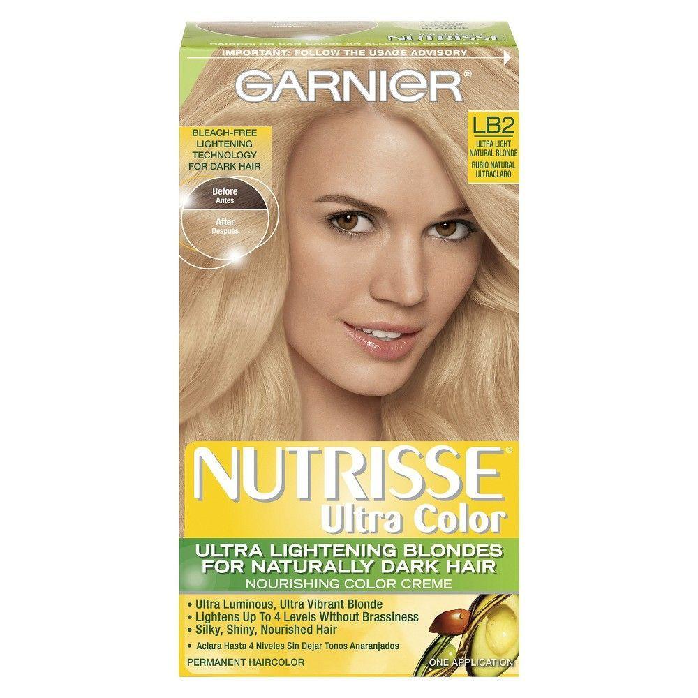 Garnier Nutrisse Ultra Color Nourishing Color Creme Dyed Blonde