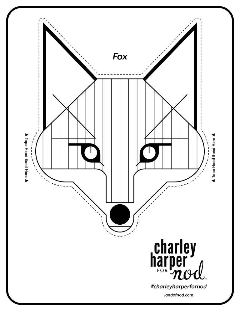 Charlie Harper Printable Animal Crowns   Pinterest   Dibujo
