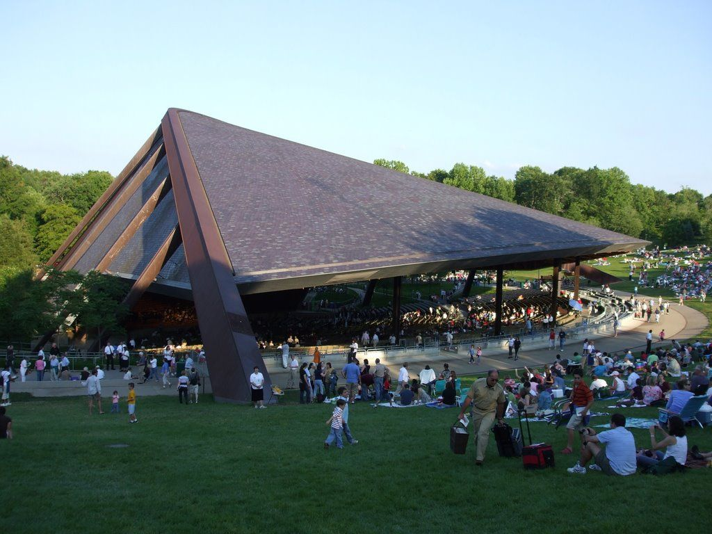 blossom music center// lots of concerts here in the 70's and 80's