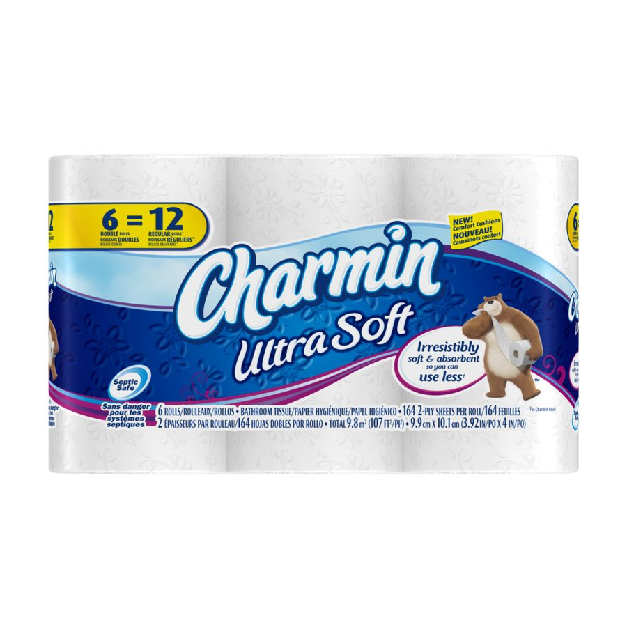 Shop Charmin Ultra 6-Pack Toilet Paper at Lowes.com | PACKAGE ...