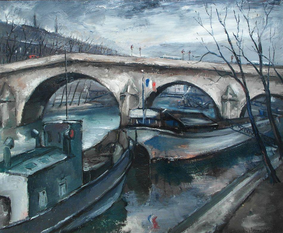 Gerard Hordijk Boten op de Seine