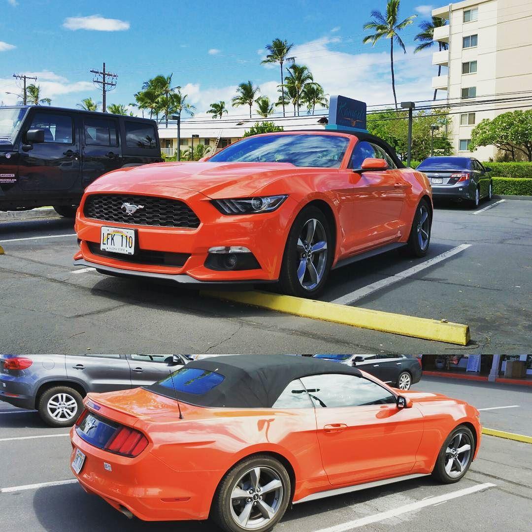 Orange Mustang! #protecautocare #ford #mustang #american