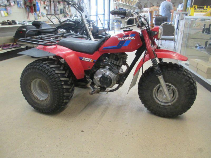 Three Wheeler Tires : Honda s wheeler atv that is in great condition