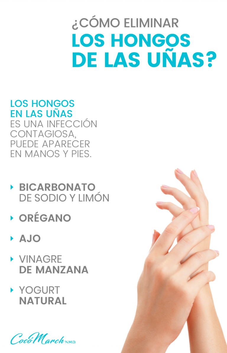 remedios caseros para eliminar los hongos de las uñas