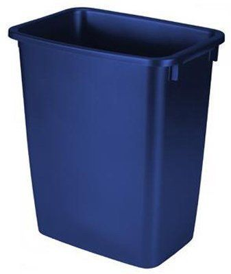 20 Quart Trash Bin for Under The Counter Pull Outs Case of 6 - outdoor & indoor trash cans, recycle bins, & ashtrays for commercial, office or home.
