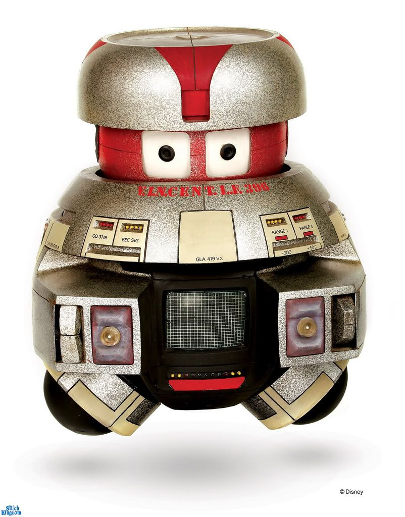 From The Black Hole Vincent And Maximillian On Display At Short Circuit Robot For Sale Holes Disney Movie Jouet