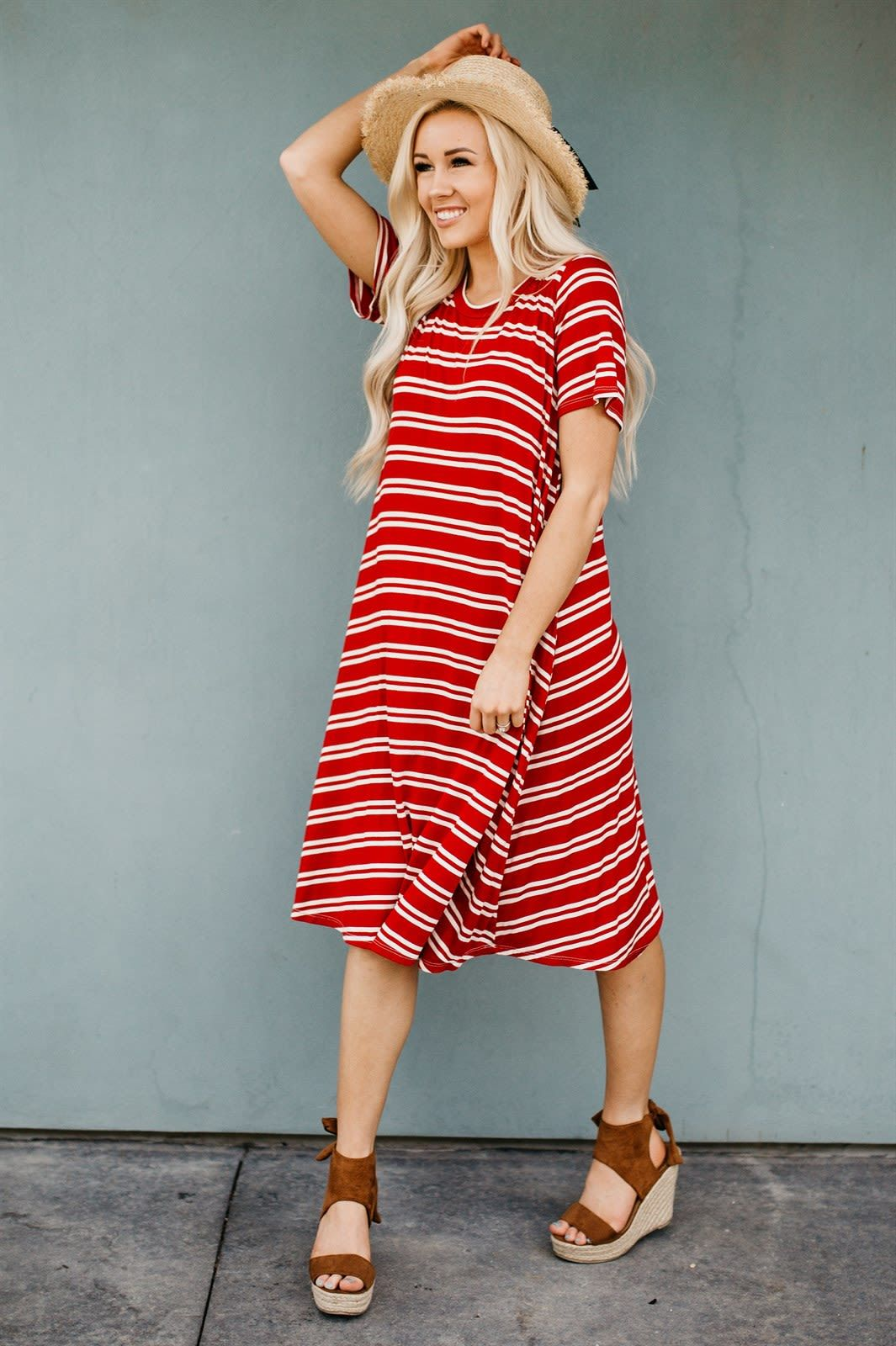 The Carlee Swing Dress 4 Colors Modest Dresses Modest Dresses Casual Swing Dresses Outfit [ 1600 x 1065 Pixel ]