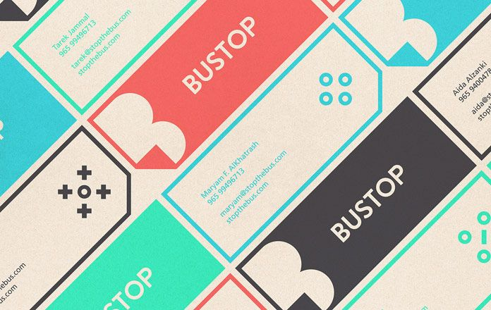BUSTOP Branding by Firas Said | Graphic | Brand identity