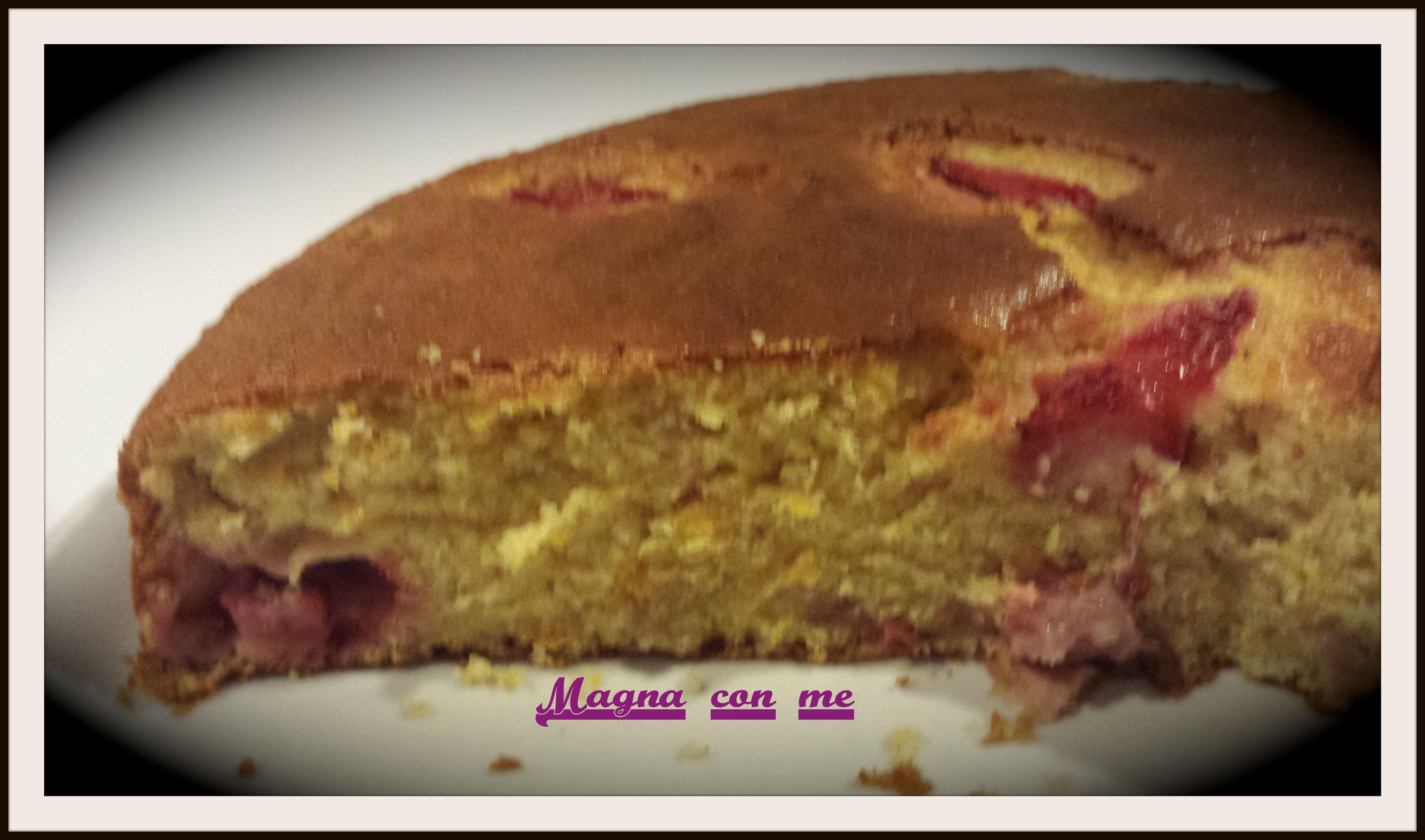 Pan d'arancia fragolato http://blog.giallozafferano.it/magnaconme/pan-darancia-fragolato/
