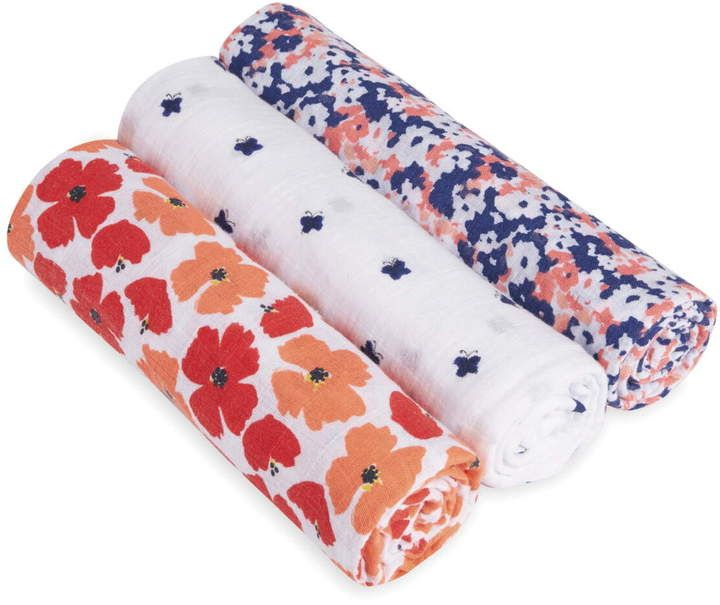 Aden Anais 3 Pack Classic Swaddling Cloths Swaddle