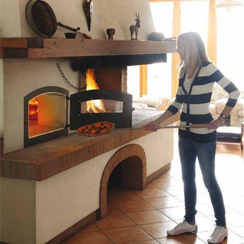 Risultati immagini per cucina tipo economico fireplaces pinterest oven stove and fire pit - Cucinare con il forno a legna ...