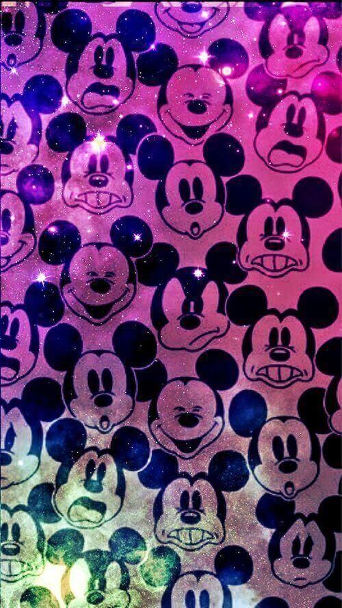Excepcional Papéis de parede do Mickey e Minnie para celular | Papéis de  HO41