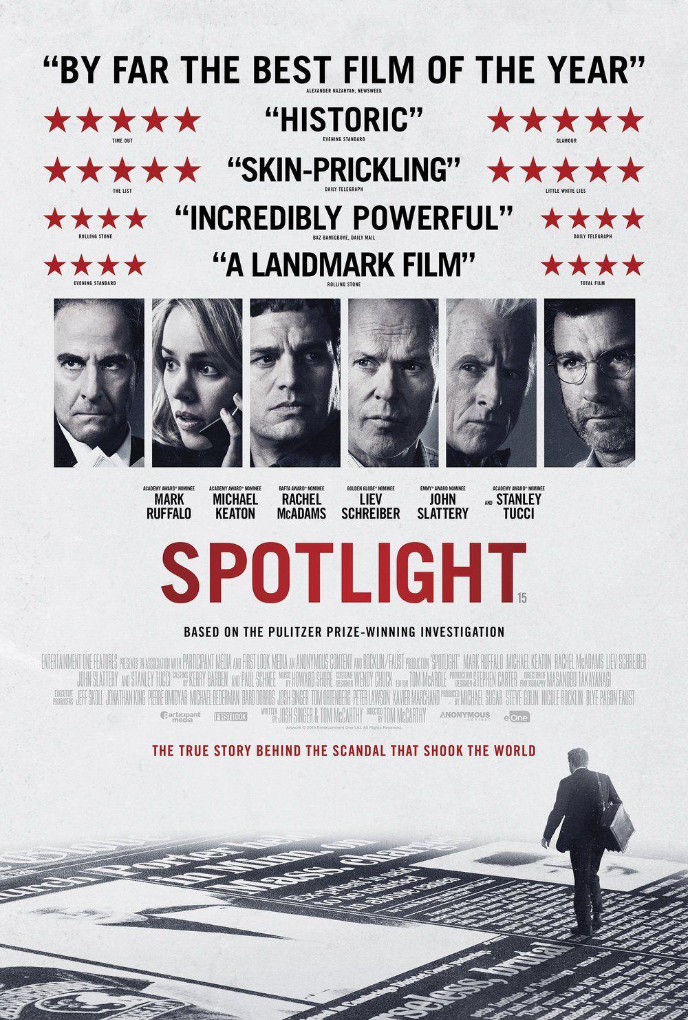 《驚爆焦點》Spotlight (2015)