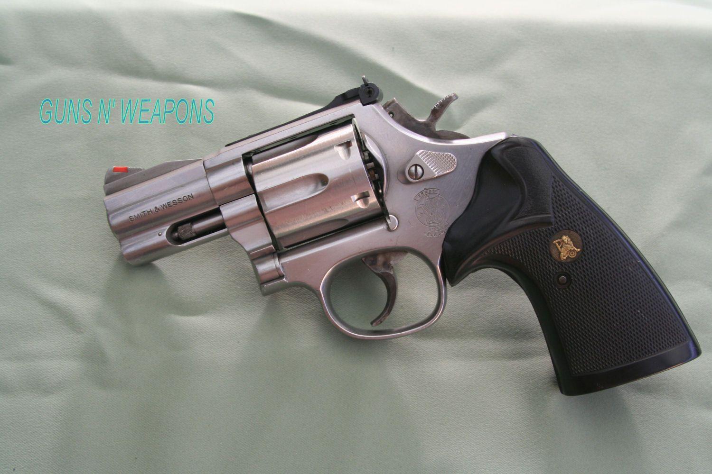 SW Model 686 357Magnum 2 Snub Nose Revolver