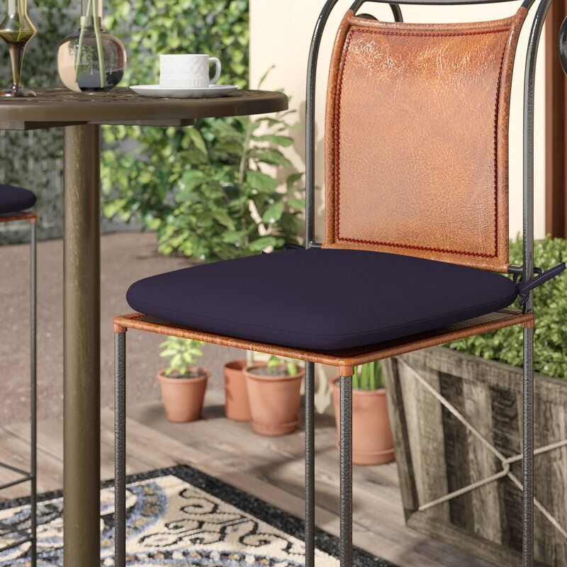 Indoor Outdoor Barstool Cushion In 2020 Bar Stool Cushions Outdoor Bar Stools Outdoor Chair Cushions