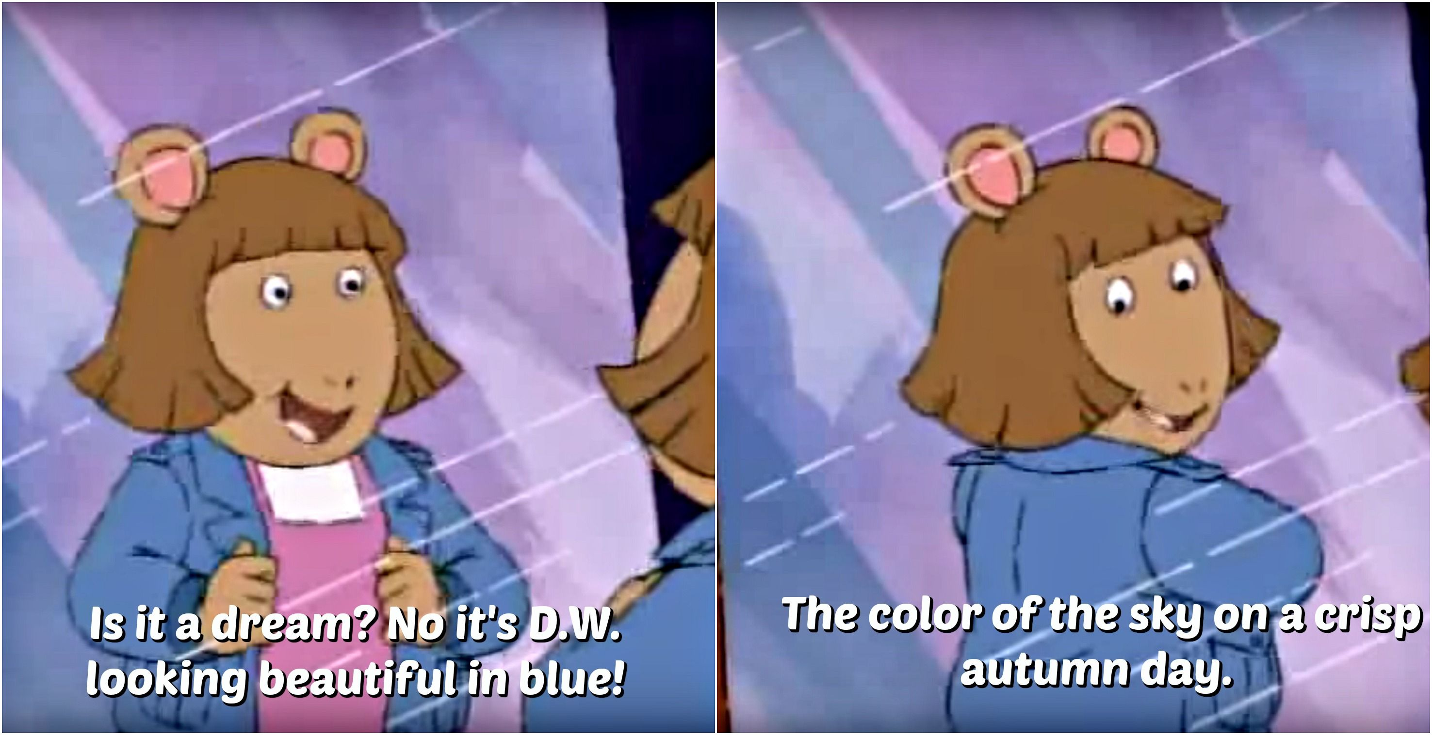 I Wish I Had This Much Self Esteem When I Was Four Childhood Tv Shows Cartoon Memes Funny Memes