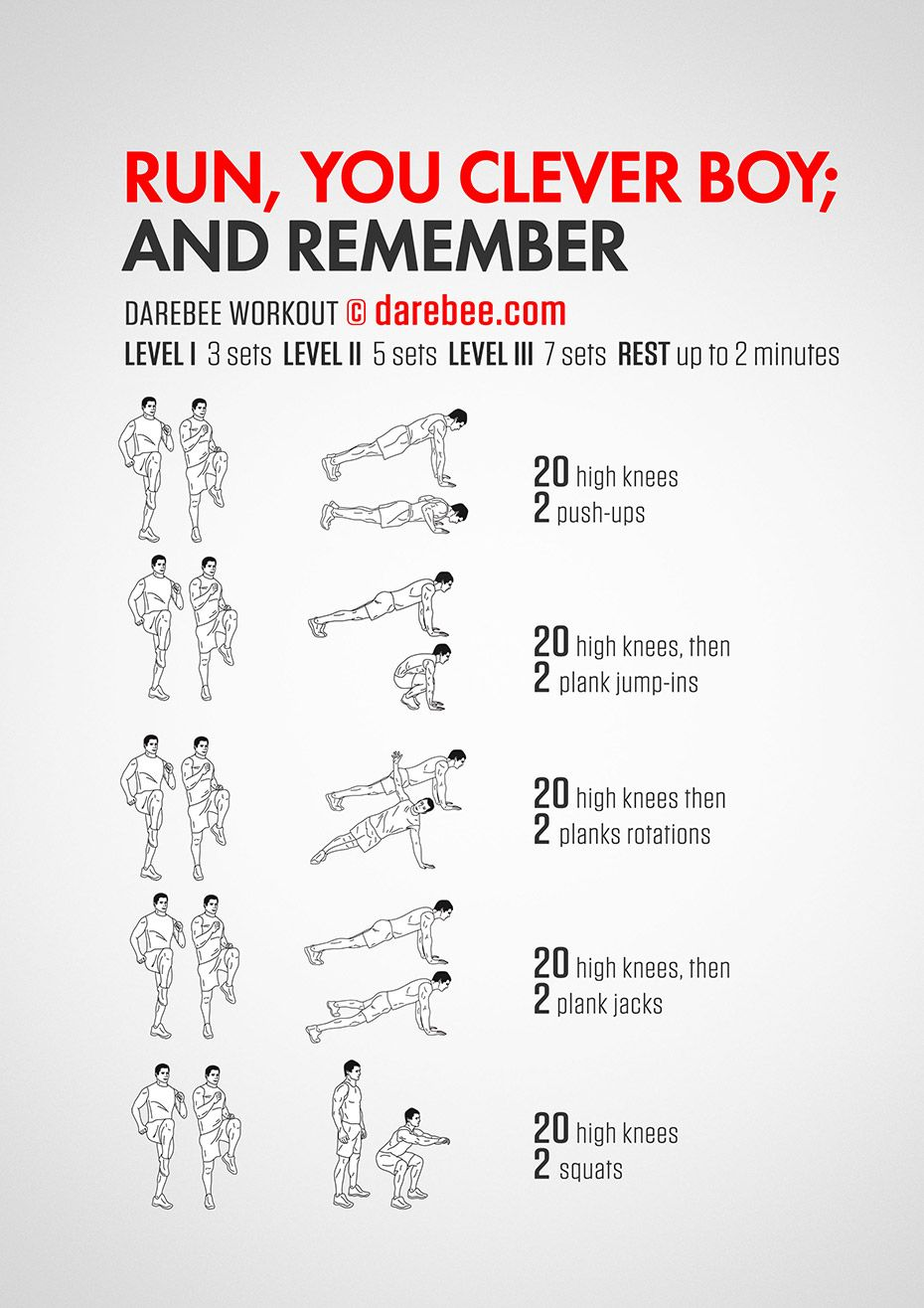 Run, you clever boy Workout | Posted By: AdvancedWeightLossTips.com ...