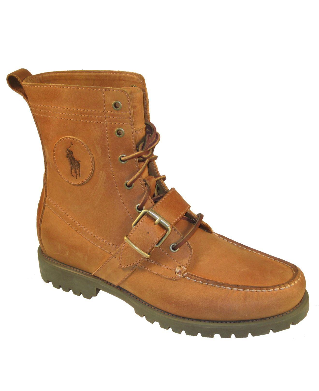 Polo Ralph Lauren Ranger Strap Boots - All Men's Shoes - Men - Macy's